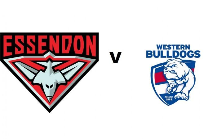 Essendon v Western Bulldogs