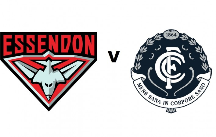 Essendon v Carlton